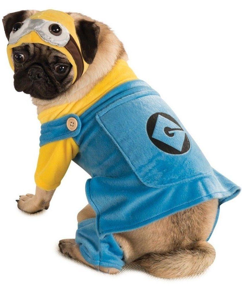 Dog Minion Fancy Dress Costume Minion Dog Costume Pet Costumes