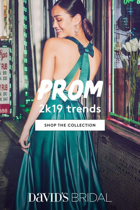 David   bridal has every trending look for prom bold prints slinky metallics also best images in formal dresses overall dress rh pinterest