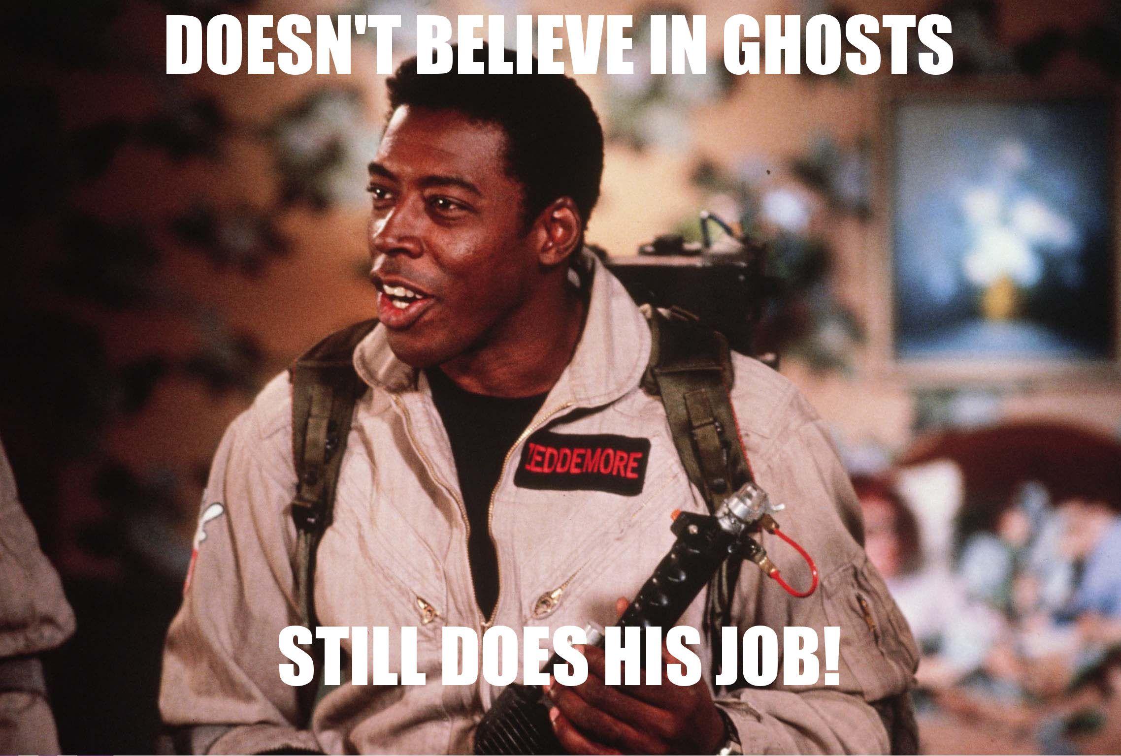 #Ghostbusters (1984)  #Winstonzeddemore