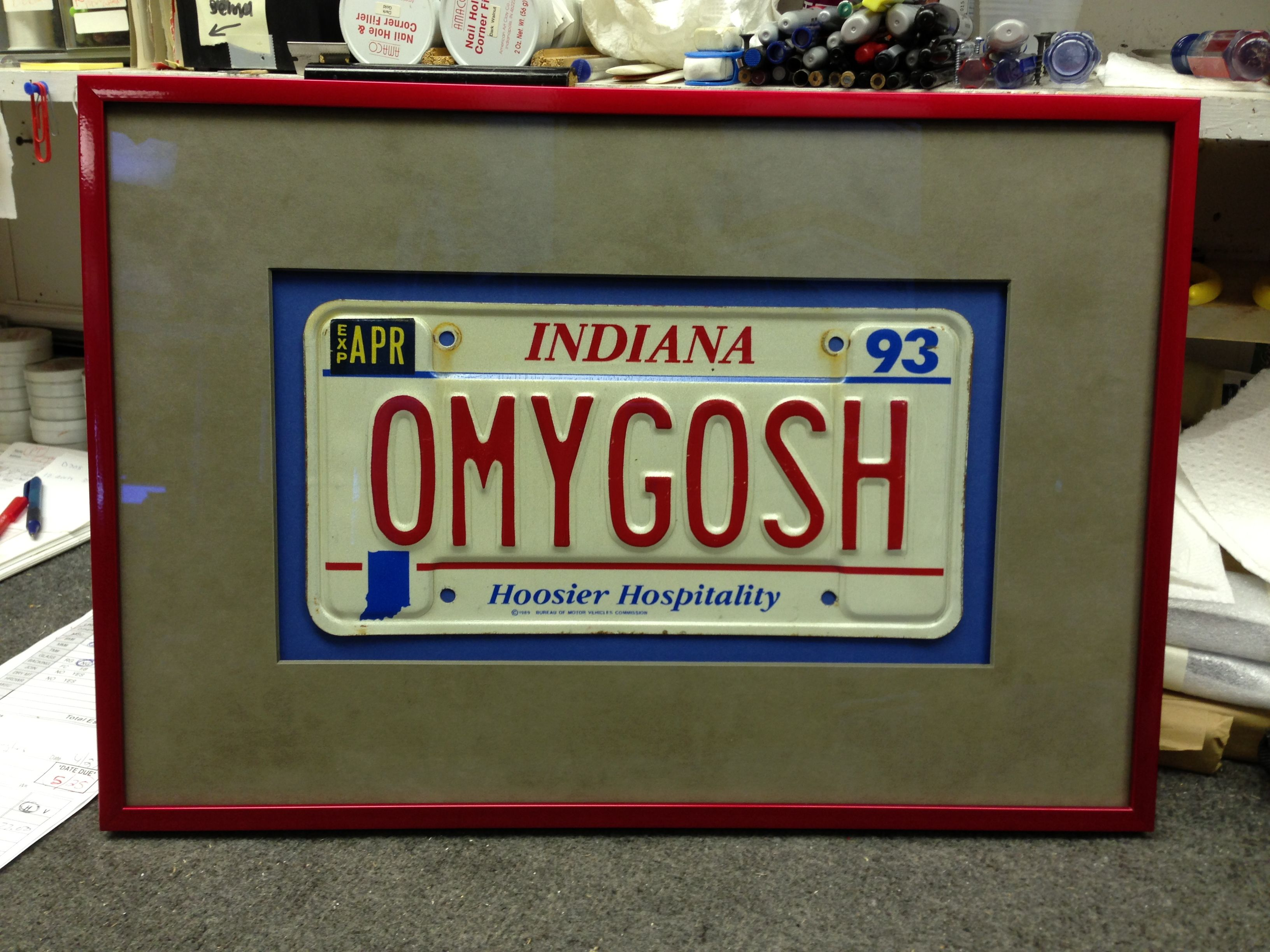 License plates from a favourite or first car make a sentimental ...