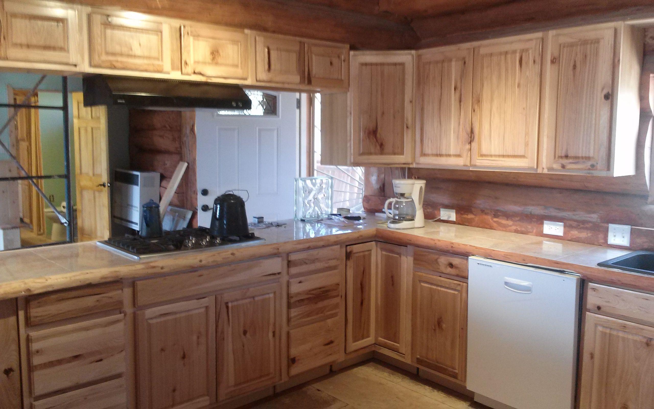 The Kitchen In Our New Cabin Still Under Construction Birchwood Cabinets Kitchen Cabinet