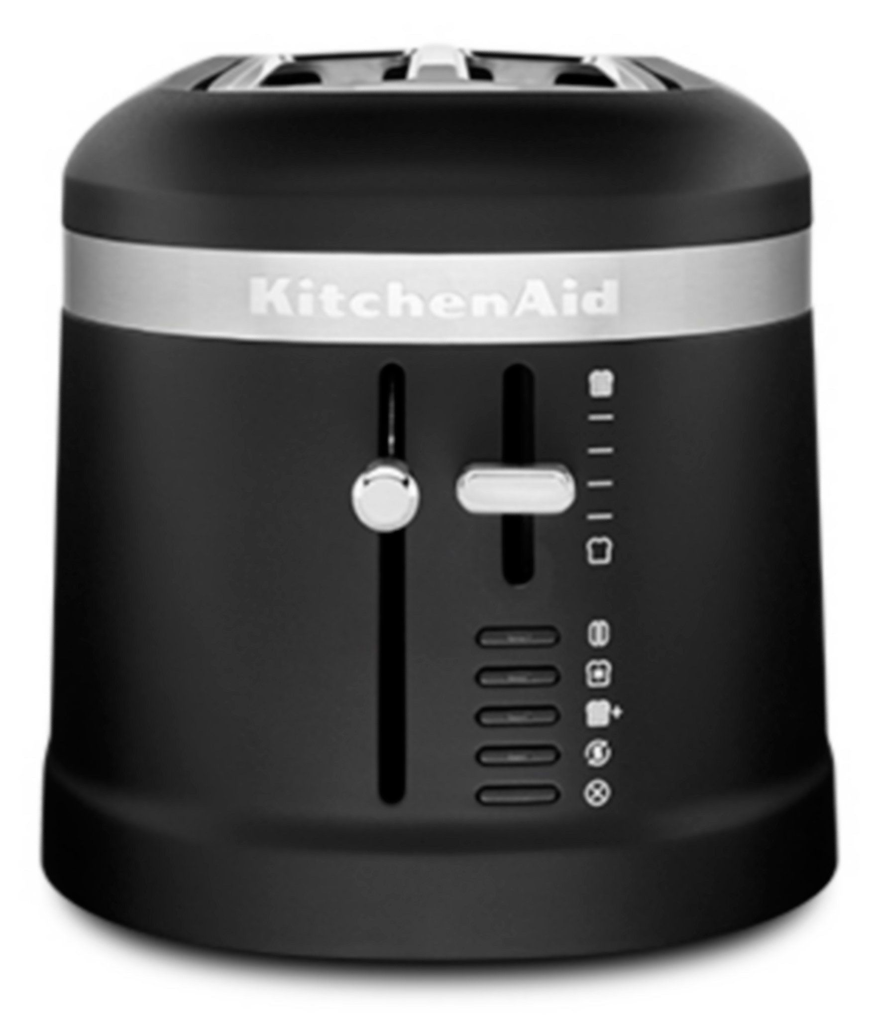 Kitchenaid 4 045 Slice Long Slot Toaster With High 045 Lift Lever Black Matte In 2021 Kitchen Aid Black Toaster Long Slot Toaster