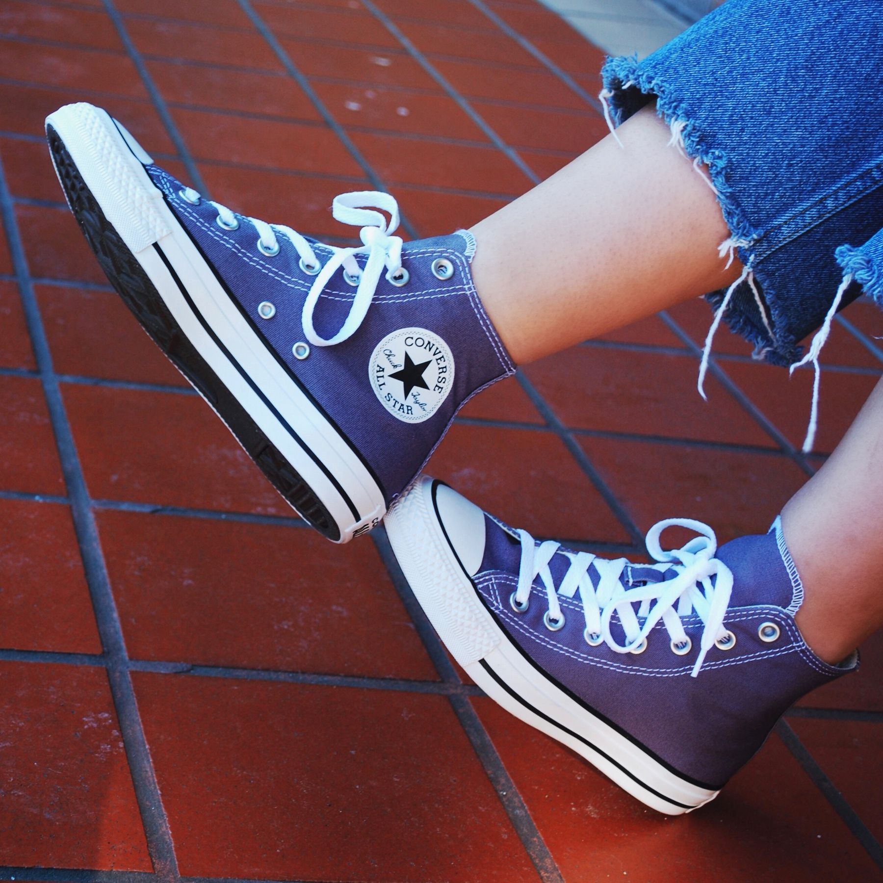 707f08c6234537 Converse Chuck Taylor All Star Hi Top Moody Purple in 2019