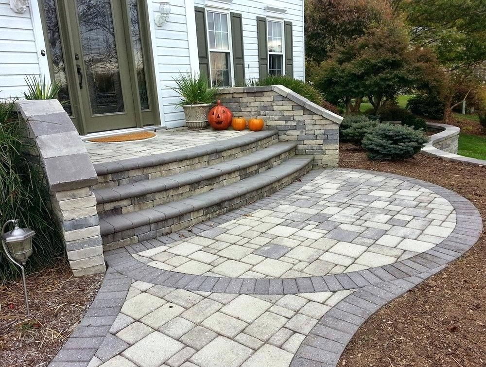 Patio Stairs Ideas Here Are Some More Patio Stairs Patio | Paver Patio Steps Designs | Retaining Wall Pergola | Landscaping | Building | Easy Diy | Stair