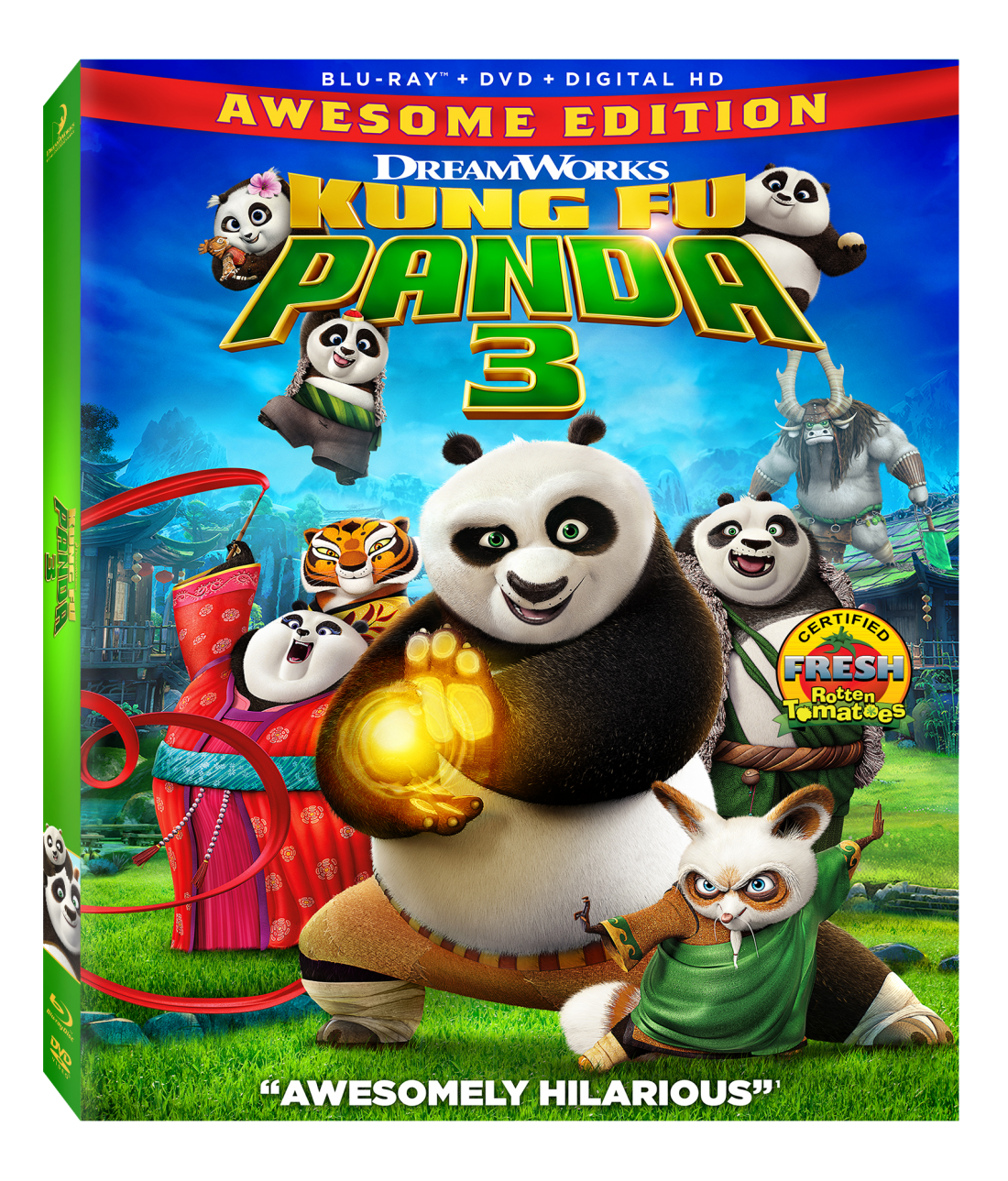 Kung Fu Panda 3 Awesome Edition Blu Ray Giveaway Pandainsiders Kung Fu Panda 3 Kung Fu Panda Kung Fu