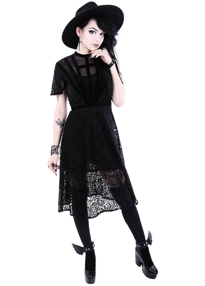 Restyle Black Dahlia Gothic Dress In 2019 Gothic Outfits