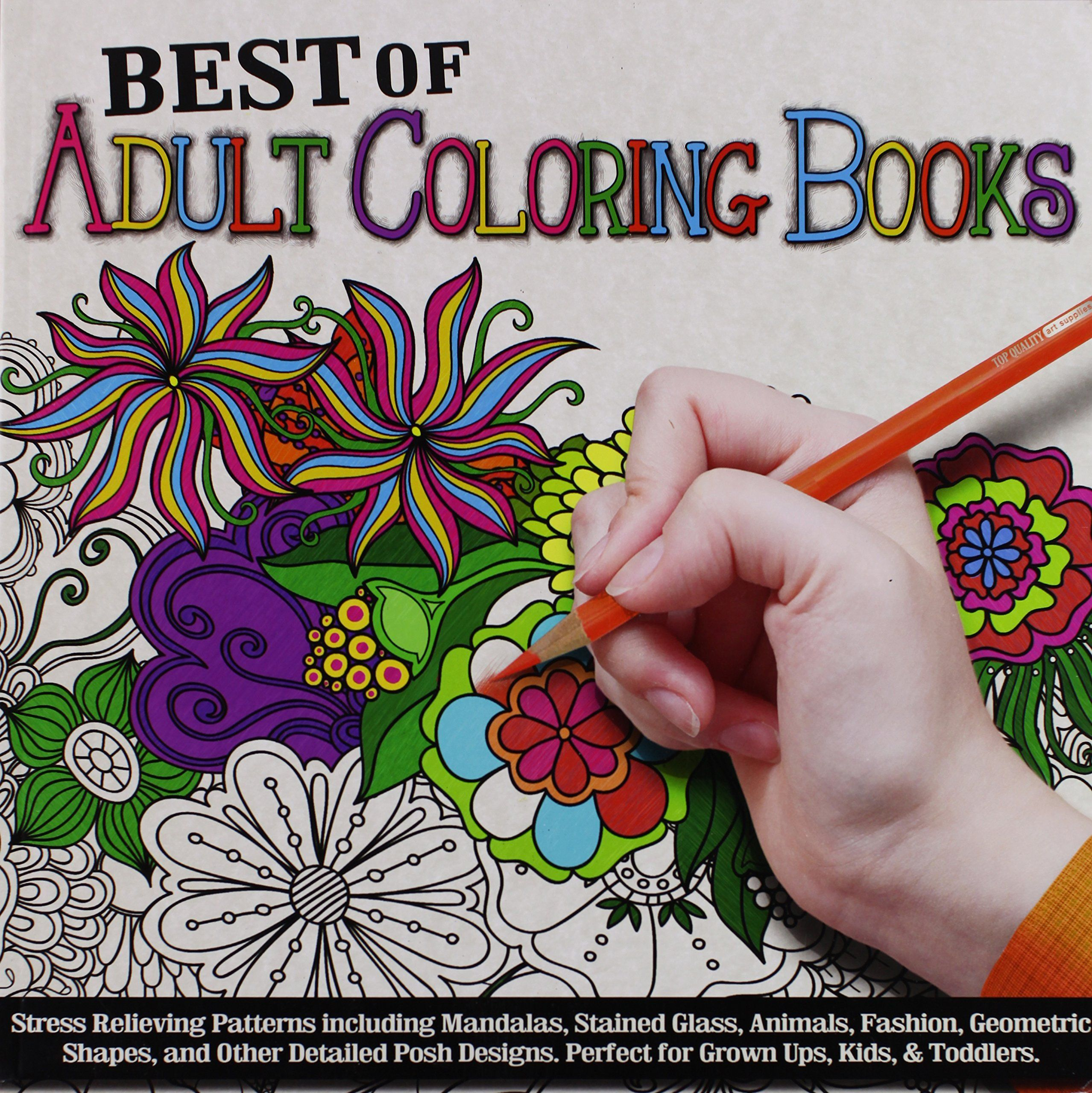 Best stress relieving coloring books for adults - Adult Coloring Books Provide Mindful Stress Relief Through Creative Expression Coloring Offers Relaxation And A Break From A Busy Tech Filled World
