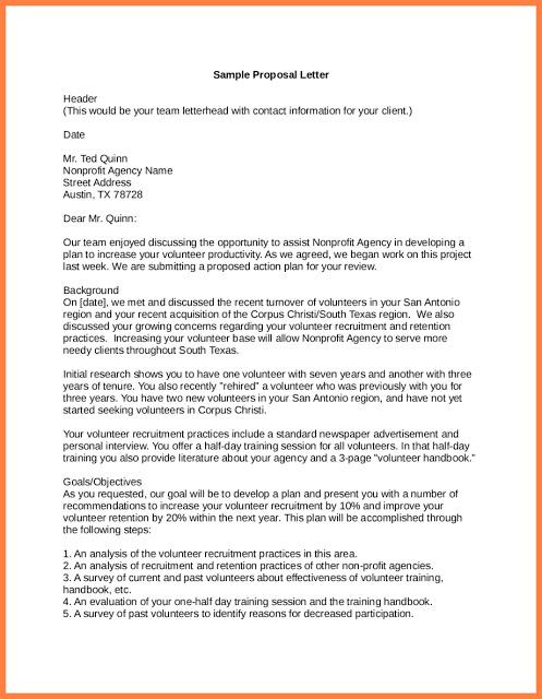 Samples Of Proposal Letters For Sponsorships . #Samples # ...