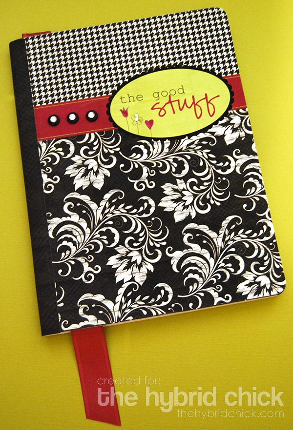 Diy Composition Notebook My Love Of Journaling Decorate