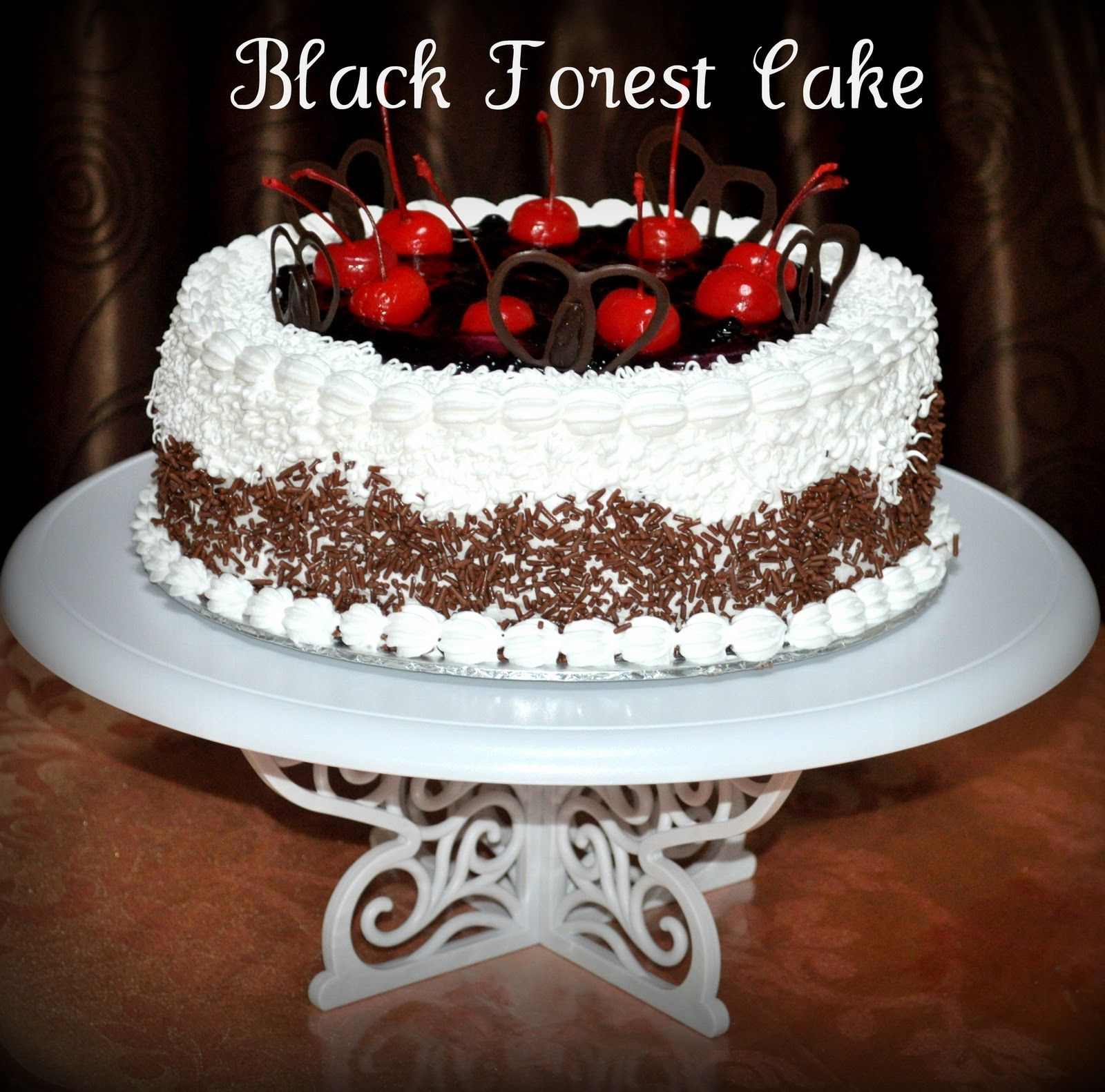 German Black Forrest Cake This Is What I Want For My Birthday This