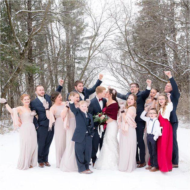 Alex Matt Minnesota Winter Fairytale Wedding Design Studio By Stacy