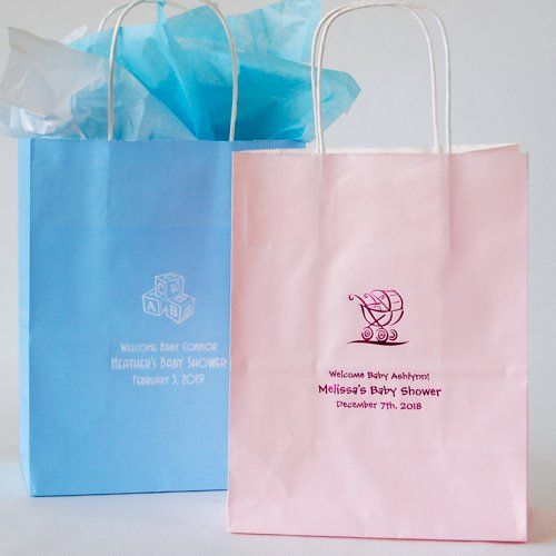 Personalized baby shower gift bags baby shower gift bags and babies personalized baby shower gift bags negle Choice Image