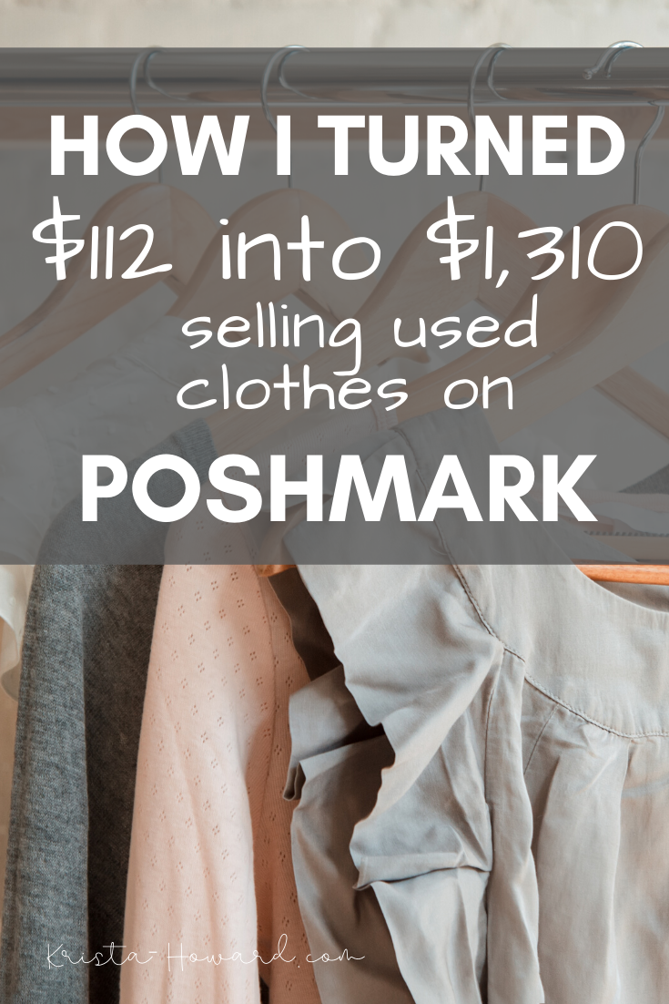 How To Sell Used Clothes On Poshmark Selling Used Clothes Things To Sell Turn Ons