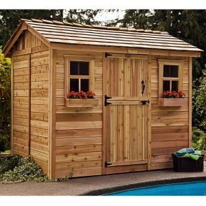 Outdoor Living Today Cabana 6 ft. x 9 ft. Western Red ... on Outdoor Living Today Cabana id=95525