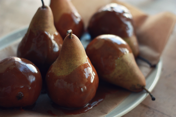 winter pears.