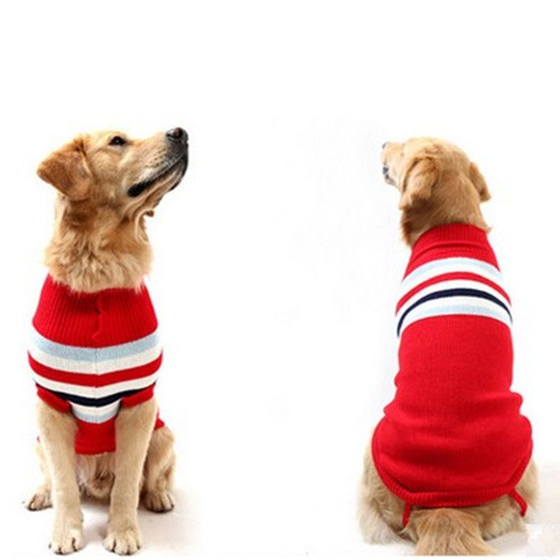 Hot Fashion Comfortable large Christmas Clothing Pet Pullovers male dog  sweater cute clothes in winter big dog clothes winter - Hot Fashion Comfortable Large Christmas Clothing Pet Pullovers Male
