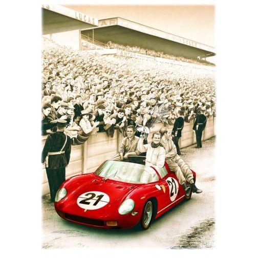 Ferrari 250 P - Le Mans 1963 | 旧車, 車
