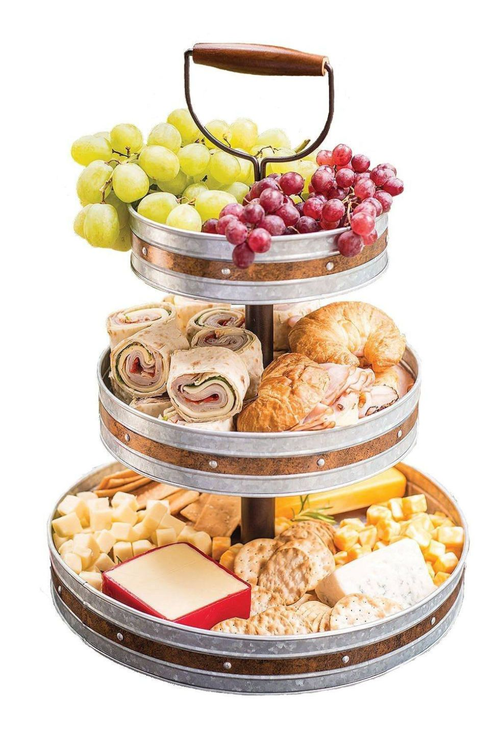 10 Outdoor Party Ideas For The Ultimate Summer Event Party Trays Tiered Serving Stand Food Display