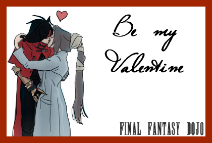 #FinalFantasy #Valentins Karten Von FinalFantasyDojo Zum Valentinstag  Schenken Wir Euch Selbst Gestaltete Karten,