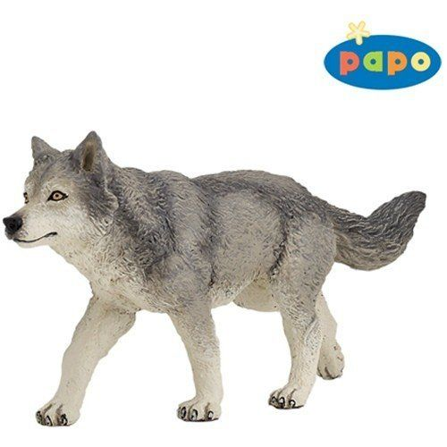 Papo Siberian Husky Toy Figure 54035 New