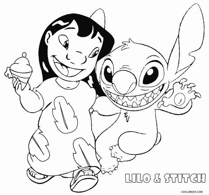 printable lilo and stitch coloring pages for kids cool2bkids - Stitch Coloring Pages