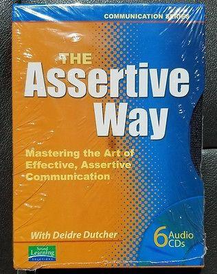 AudioBook The Assertive Way Communication Series 6-CDs Deidre Dutcher TORN