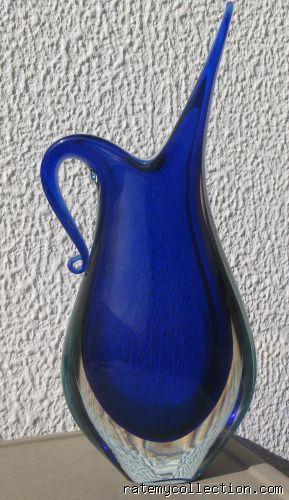 Murano Glass Vases Sixties Murano Glass Vases 1950s And 60s Art