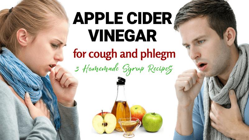 Apple Cider Vinegar for Cough and Phlegm: 3 Homemade Syrup