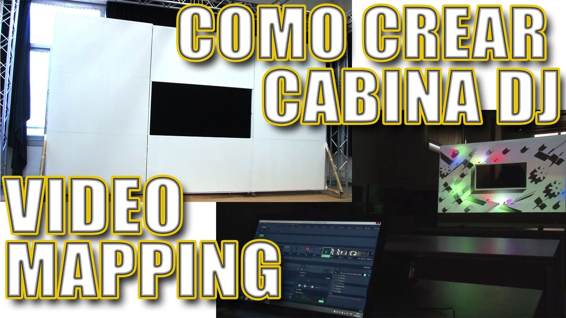 Foto Cabina Ideas : Como crear una cabina dj para videomapping stuff try inspire