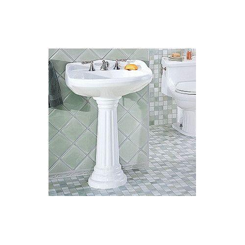 St Thomas Creations Arlington Grande Pedestal Bathroom Sink With
