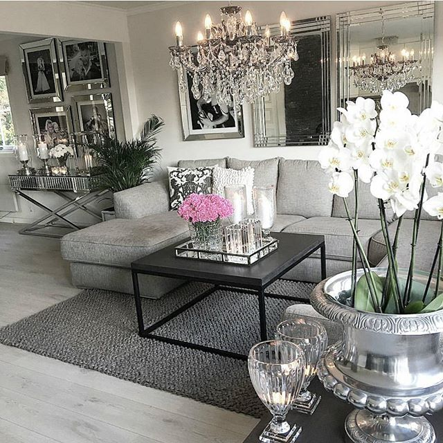 Grey Glam Living Room Ideas: God Kveld ⭐ Her Er Det Taco Og Filmkveld