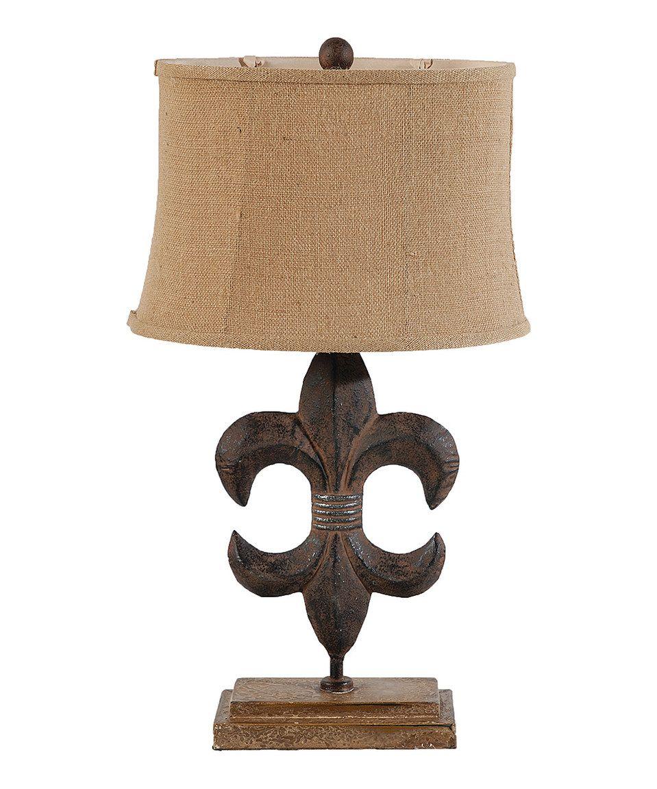 Fleur De Lis Table Lamp Metal Table Lamps Table Lamp Lamp