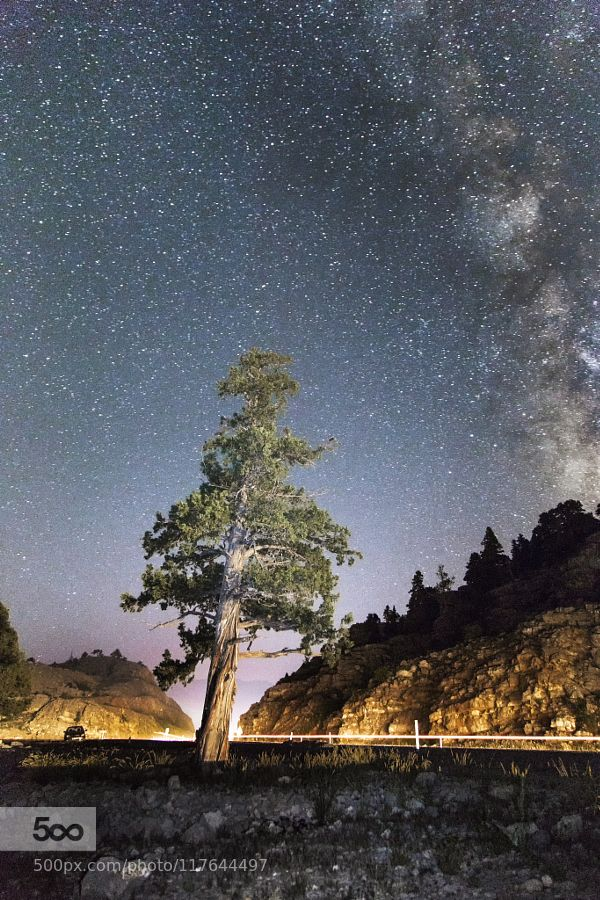 Trip to the Milky Way by postmoses #nature