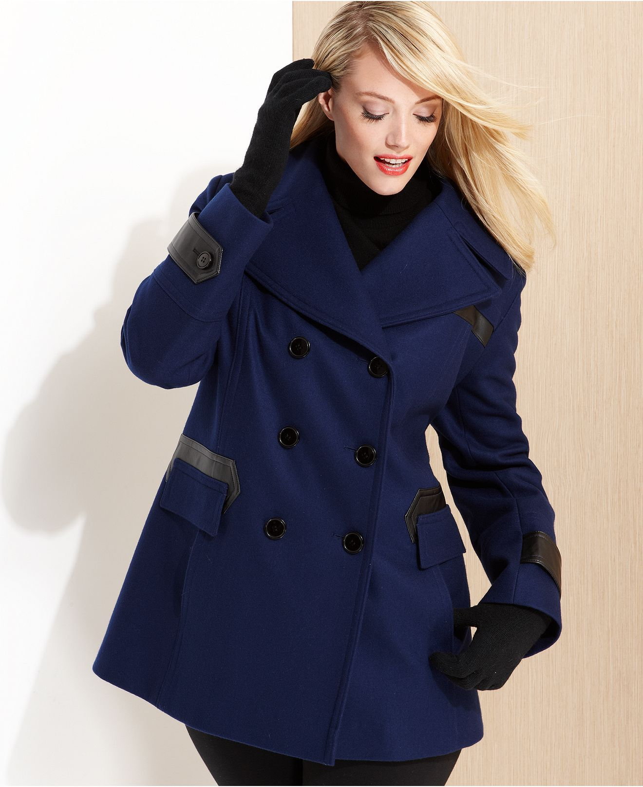 ce79ed44188 Via Spiga Plus Size Coat