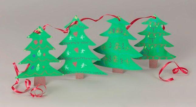 Christmas Girlanden Basteln Weihnachtsbasteln Basteln