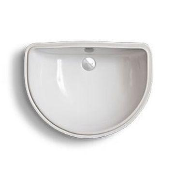 Underslung Basins U2013 Split Oval Underslung Basin. 510mm. U2013 White U2013 Deca