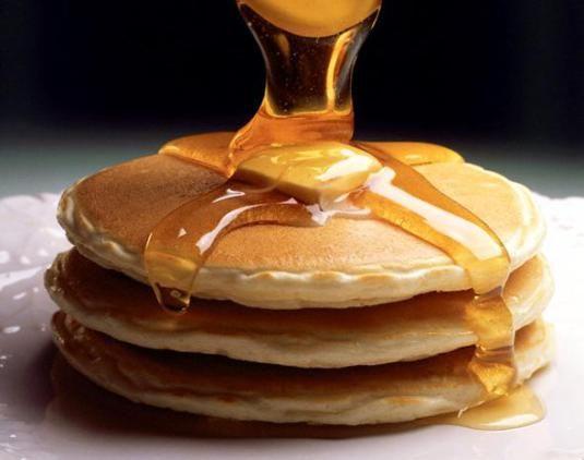 Egg-less pancakes.