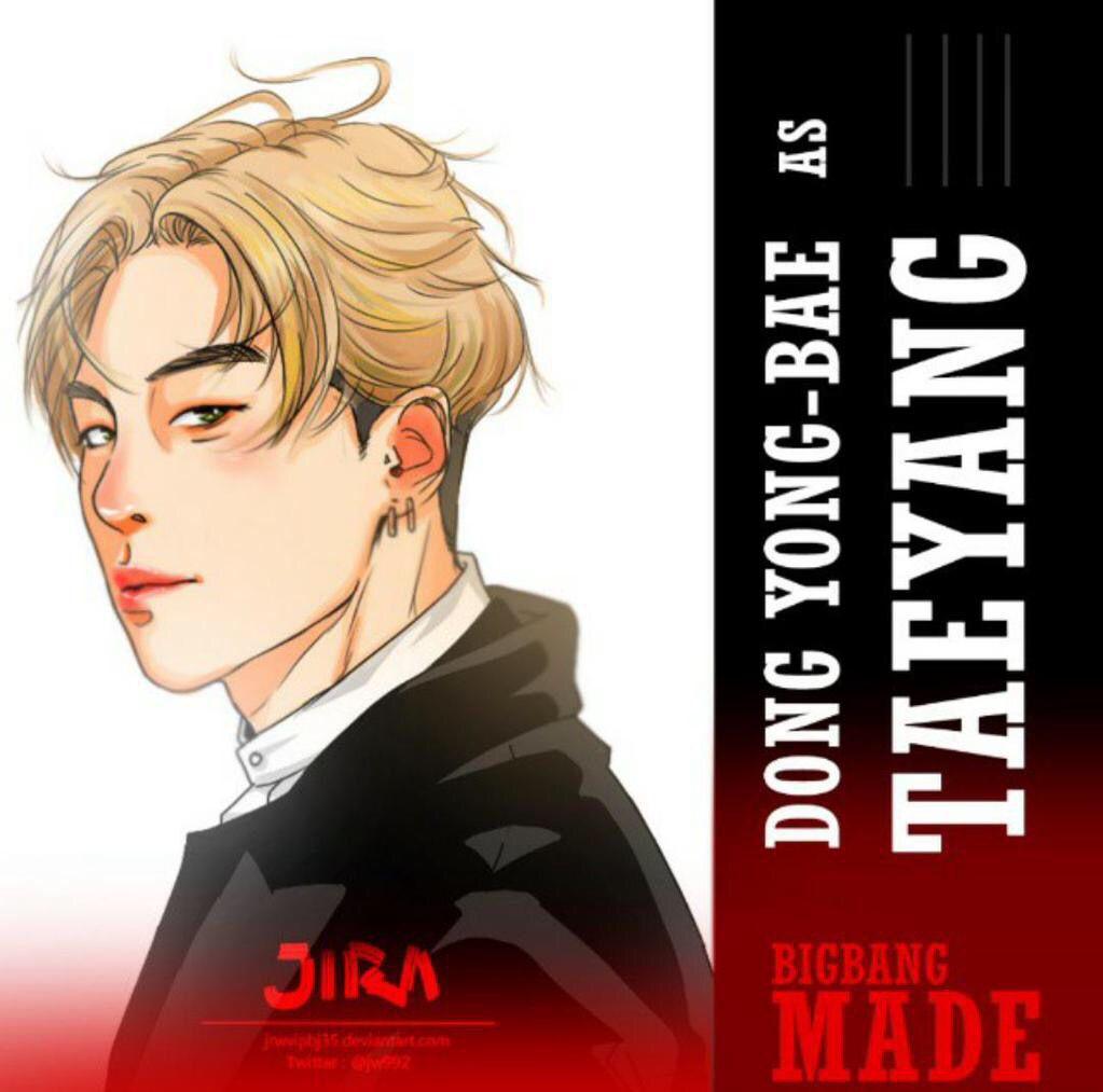 Taeyang_2015 MADE Bigbang fan art Cr.Logo