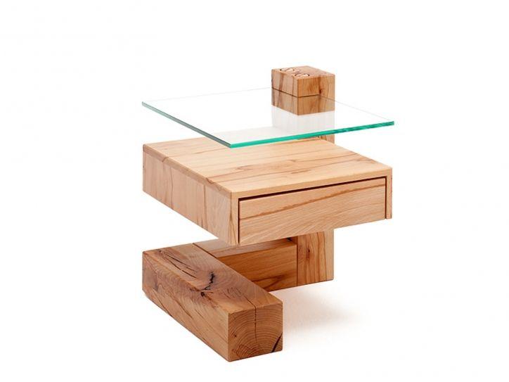 Das Balkentischchen Z Form Schublade Modern Bedside Table Der