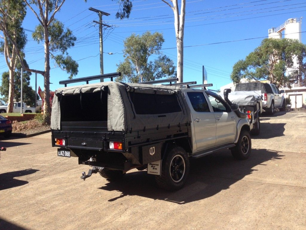 We manufacture ute canopies and cages onsite from 100% Australian Canvas and Steel and fast & We manufacture ute canopies and cages onsite from 100% Australian ...