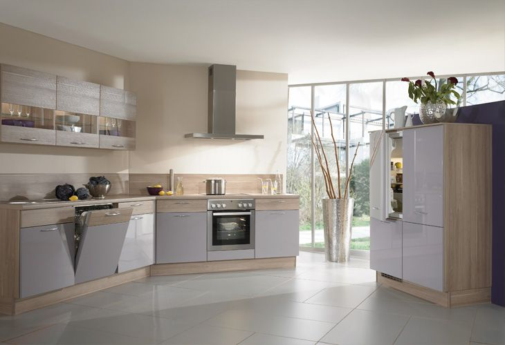 contemporary kitchens cabinets k 252 che in lila eckk 252 che www dyk360 kuechen de kitchens 13835