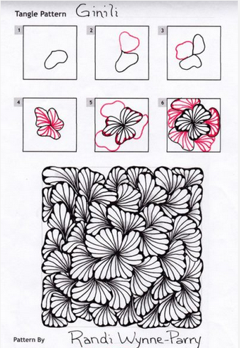 How to draw Ginili Zening in 40 Pinterest Zentangle Inspiration Zentangle Pattern