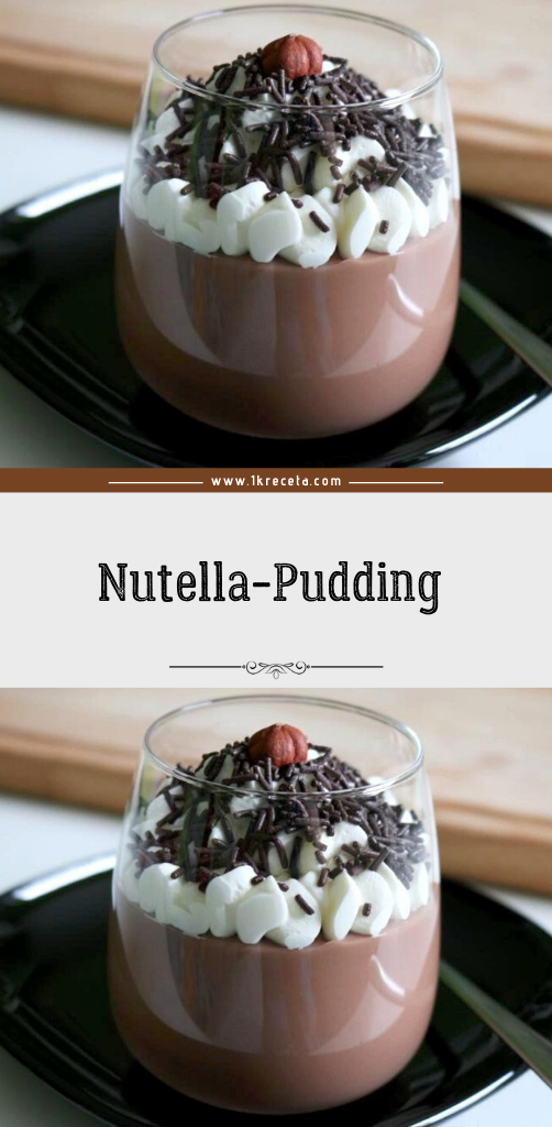 Nutella-Pudding