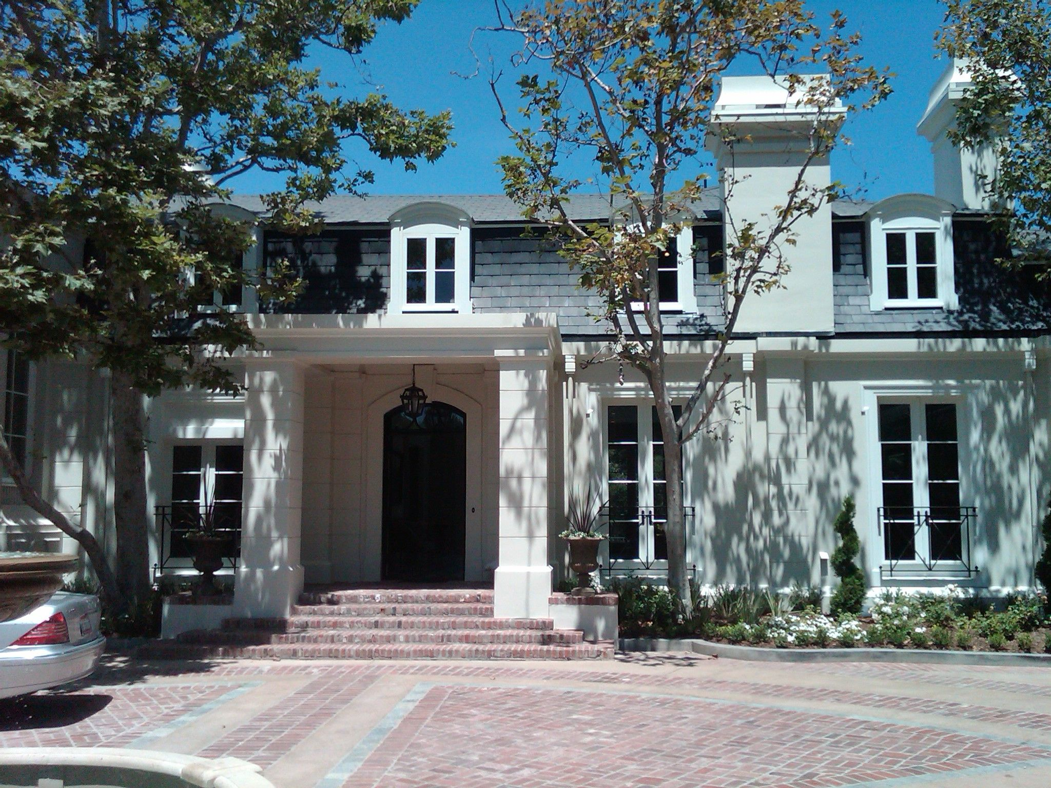 Modern classic French design with a Mansard style roof. | Exteriors ...