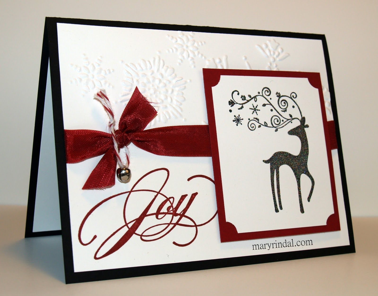 Christmas Card Making Ideas 2014 Part - 23: Stampin+up+dasher+card+ideas+2014 | Your Christmas Cards Coming