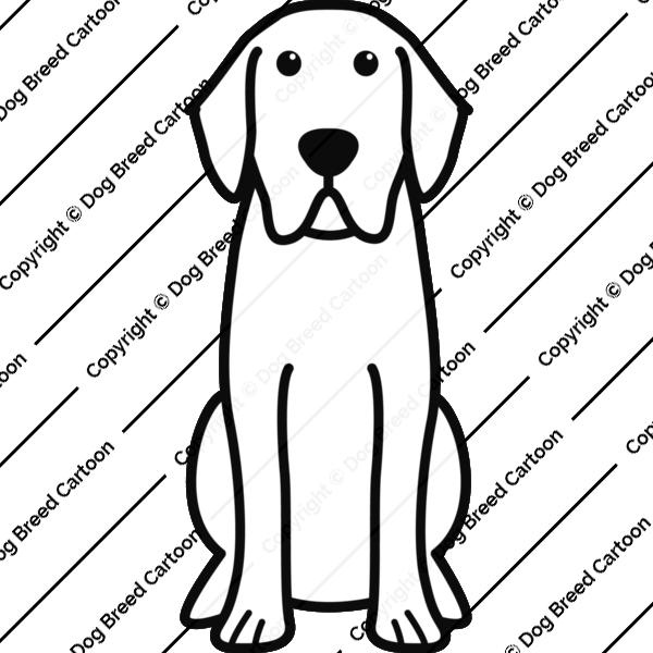 Labrador Retriever Linear Edition Download Cartoon Dog Labrador Retriever Cartoon Dog Labrador Art Dog Embroidery Designs