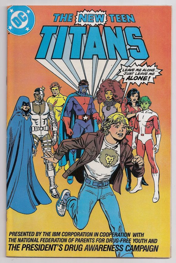 Remarkable, teen titans drug awareness you the