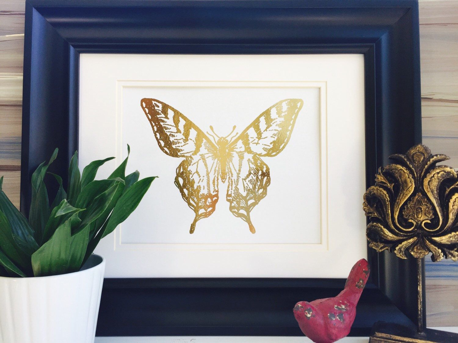 Butterfly Wall Decor Gold Foil Print Gold by FoiledAgainPrints & Pin by Amie Binkley on Emeryu0027s room | Pinterest | Butterfly wall ...