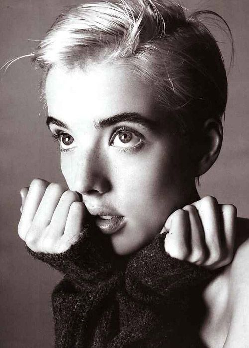 Agyness Deyn photographed by Steven Meisel for Vogue Italia, November 2006.