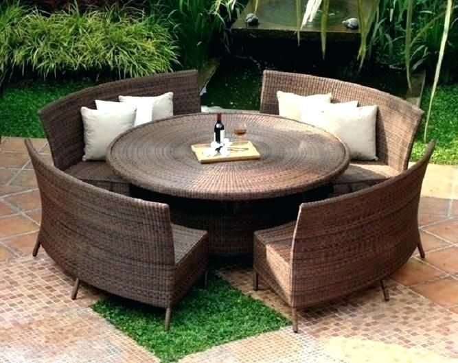 Images Bar Height Outdoor Dining Set Google Search Round Patio